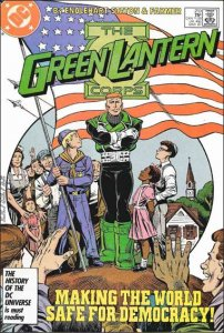 DC GREEN LANTERN CORPS (1986 Series) #210 VF
