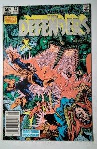 The Defenders #98 (1981) Marvel Comic Book J757