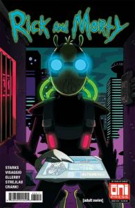 RICK and MORTY #34, 1st, NM, Grandpa, Oni Press, from Cartoon 2015,more in store