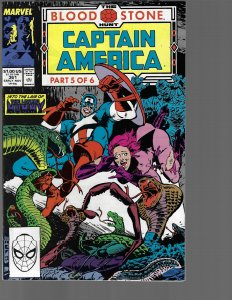 Captain America #361 (Marvel, 1989) NM