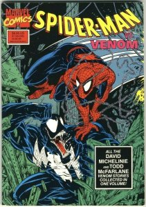 Spider-Man vs. Venom 2nd printing TPB - Marvel - 1990
