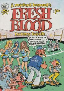 Fresh Blood Funny Book, The #1 VF/NM; Last Gasp | save on shipping - details ins
