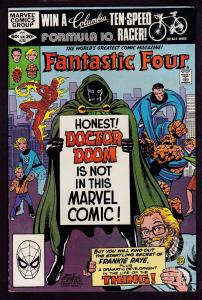 Fantastic Four #238 (Jan 1982, Marvel) 8.0 VF