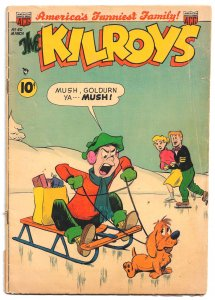 Kilroys #40 * Mar '53  Teen Humor ála Archie! - Disney Artists Bradbury & Wick