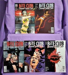 Howard Chaykin BITE CLUB Vampire Crime Unit #1 - 5 David Hahn (DC, 2006)!