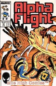 ALPHA FLIGHT (1983 Series)  #49 Very Fine Comics Book