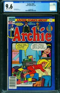 Archie #323 CGC 9.6 Cheryl Blossom cover/PIN UP 1983 2036867009