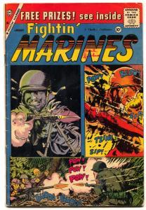 Fightin' Marines #33 1960-- Charlton Silver Age- Korean War VG