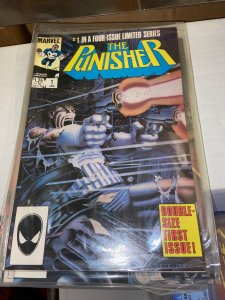 Punisher (1986) Lot - Complete Mini Series Set w/#s 1-5, 1st Limited Series