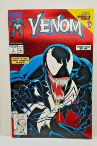 VENOM: LETHAL PROTECTOR #1 Red Foil Cover NM/Mint (1993)