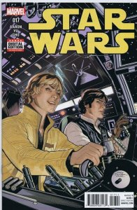Star Wars #17 ORIGINAL Vintage 2016 Marvel Comics Han Solo Luke Skywalker