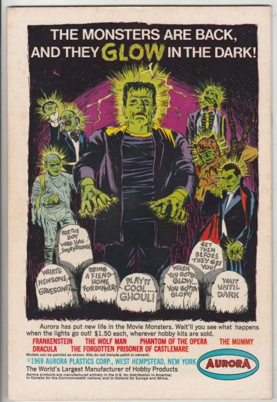 From Beyond the Unknown #1 (Nov-69) VF+ High-Grade