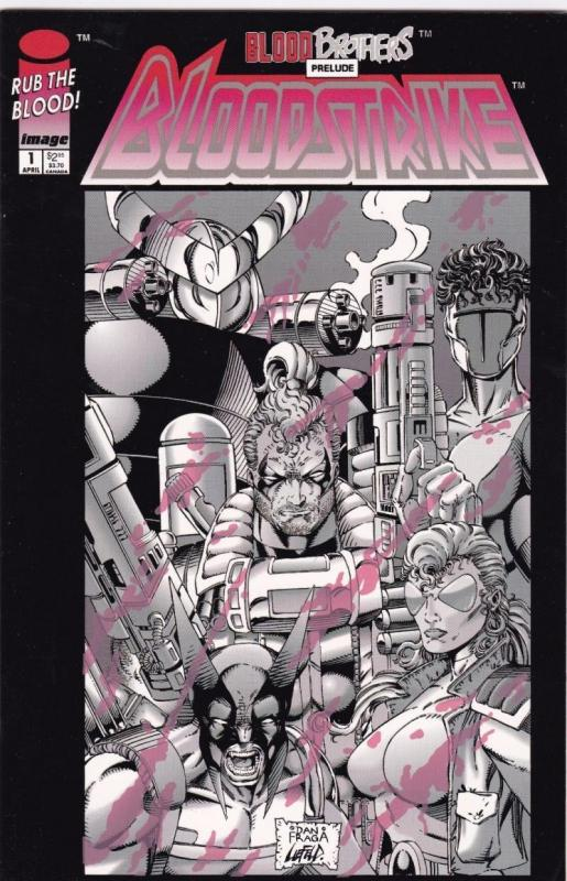 BLOODSTRIKE #1, NM, Bob Liefeld, Image, 1993, more  in store