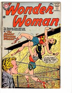 Wonder Woman # 137 VF DC Comic Book Diana Prince Justice League Silver Age J241