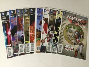 Harley Quinn 0 1-6 8-18 20-29 One-shots Some Are B Variants Lot Nm Near Mint Dc