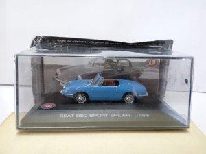Coche Escala/Scale Diecast Car: SEAT 850 SPORT SPIDER (1969)