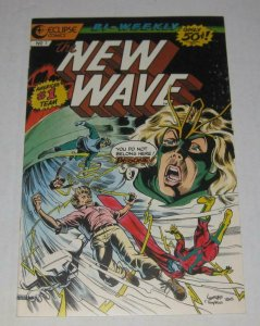 THE NEW WAVE #7, NM-, Eclipse, 1986 more Indies in store