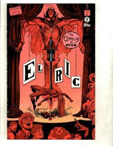 7 Comics Elric 7 Echo 22 20 Invincible 72 73 Blackest Night 8 Runaways 28 J110
