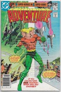Adventure Comics   vol. 1   #478 VG/FN Aquaman, Plastic Man, Starman