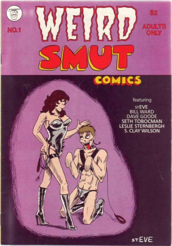 Weird Smut Comics #1 (Jan-85) VF+ High-Grade Checkered Demon