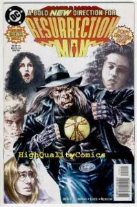 RESURRECTION MAN #19, NM+, Cape Fear, Death new powers, more in store