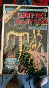 Giant size Man-Thing #4 Marvel (75) FN