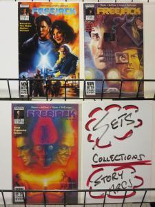 FREEJACK 1-3 VILLAIN JAGGER, Estevez, Hopkins, w/poster