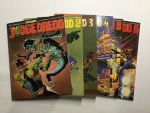 Judge Dredd 1-20 Judge Child 1-3 And More Magazine Lot Near Mint Nm Titan Books