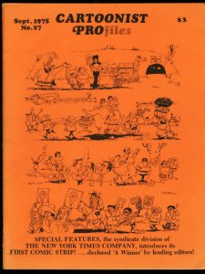 CARTOONIST PROFILES #27-1975-THE PHANTOM-LEE FALK FN