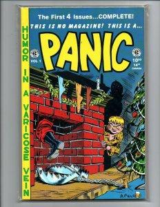 EC Classics Vol. 10 Panic Magazine - reprints first four issues -1989 -Near Mint