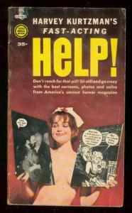 Help! Paperback Harvey Kurtzman Bill Elder 2nd printing VG/FN
