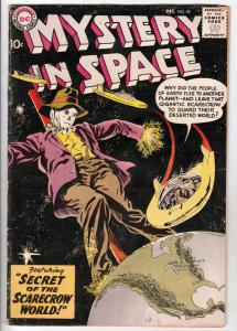 Mystery in Space #48 (Dec-58) VG+ Affordable-Grade