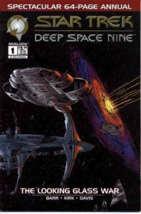 Star Trek: Deep Space Nine (Malibu) Annual #1 VF/NM; Malibu | save on shipping -