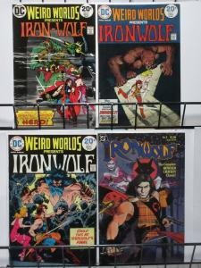 HOWARD CHAYKIN'S IRONWOLF COLLECTION! (DC,1972) 4 BOOKS, FINE/+ See Description