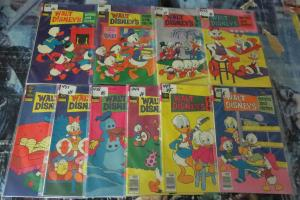 Walt Disney Comics And Stories Collection #5!10 books VG-VF! Donald and Co.Barks