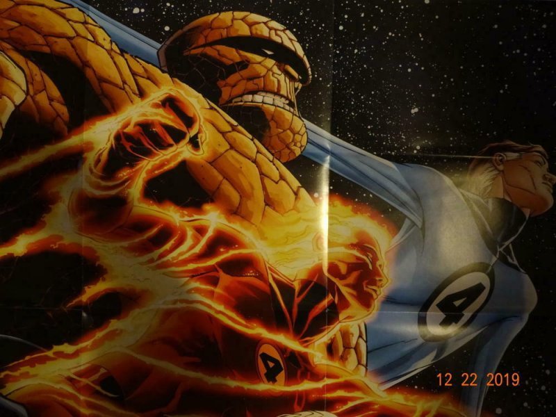 FANTASTIC FOUR Promo Poster, 24 x 36, 2011, MARVEL Unused more in our store 397