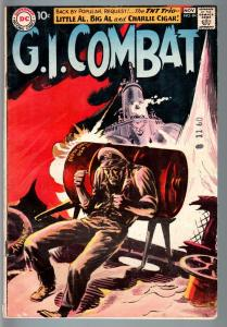 G.I COMBAT #84-REALLY COOL GREYTONE COVER-DC WAR SILVER AGE VG