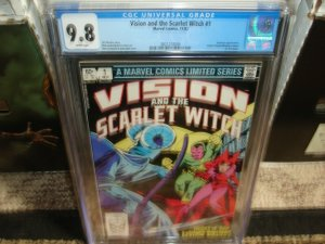 Vision & The Scarlet Witch #1 Graded CGC 9.8 HOT KEY!!