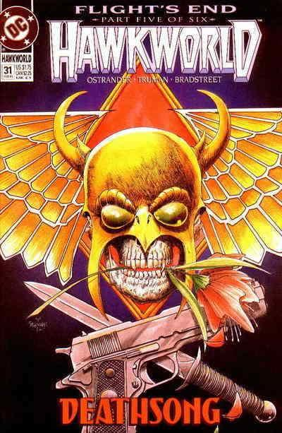 Hawkworld #31 VF/NM; DC | save on shipping - details inside