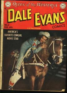 DALE EVANS COMICS #4-DC WESTERN-ALEX TOTH ART G/VG