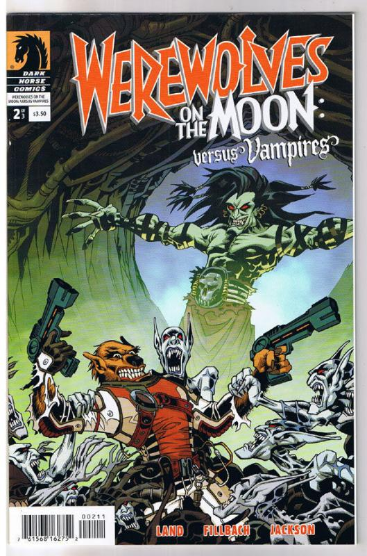 WEREWOLVES on the MOON vs VAMPIRES #2, NM, 2009, undead, more Horror in store