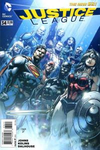 Justice League (2011 series) #34, NM + (Stock photo)