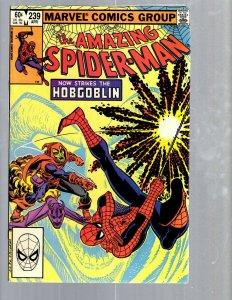 Amazing Spider-Man # 239 NM- Marvel Comic Book MJ Vulture Hob-Goblin Rhino TJ1