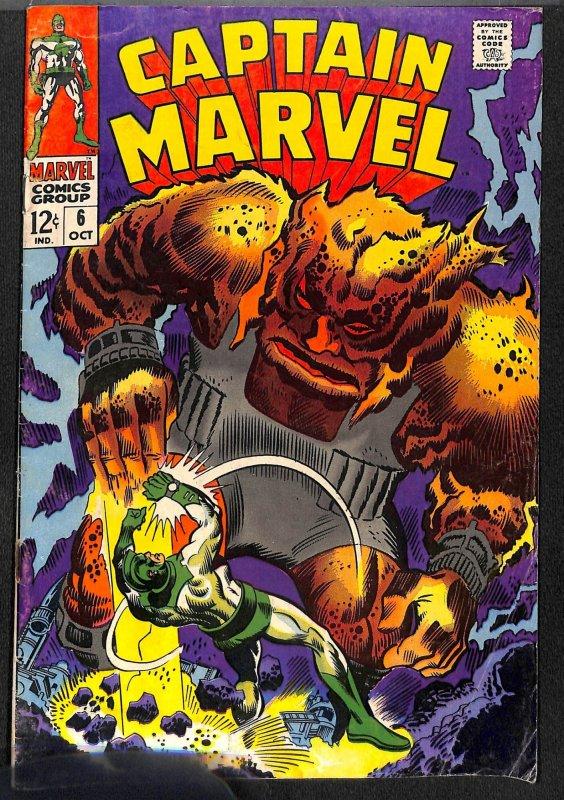 Captain Marvel #6 (1968)