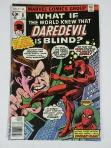 WHAT IF 8 FINE April 1978 Daredevil! Spider-Man! COMICS BOOK
