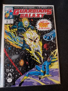 GUARDIANS OF THE GALAXY #13 THE REAL 1ST APPEARANCE OF THE COSMIC GHOST RIDER