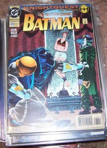 DETECTIVE COMICS  # 673 1993 dc BATMAN  KNIGHTQUEST   JOKER
