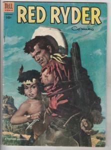 Red Ryder Comics #122 (Sep-53) VG+ Affordable-Grade Red Ryder