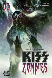 KISS ZOMBIES (2019 DYNAMITE) #3 VARIANT CVR B SAYGER PRESALE-01/15
