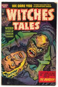 WITCHES TALES #21 1953- rape story- pre-code horror FN-